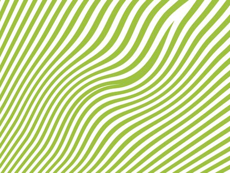 bicolored: Green stripes abstract background isolated on white