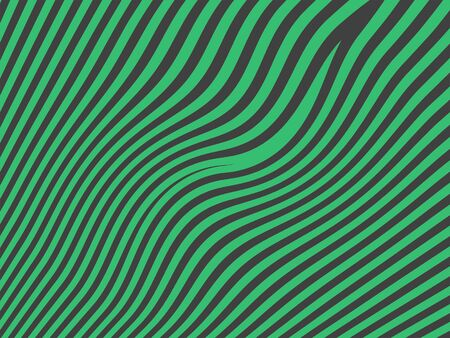 sober: Green zebra abstract background pattern