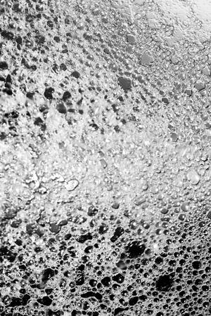 bn: Las aguas grises burbujas textura de fondo abstracto