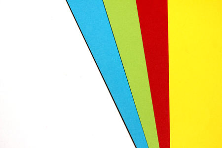 diagonals: Multicolor papers samples abstract background