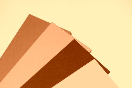diagonals: Sepia business cards palette