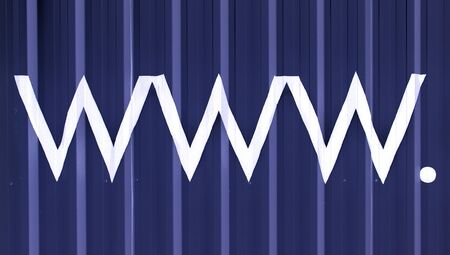 typographies: Internet abbreviation abstract background of letters