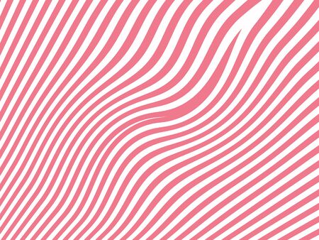 curvy: Pink curvy lines abstract background isolated on white