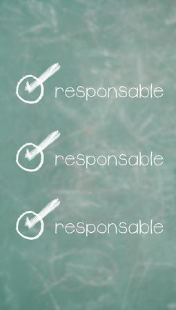 item list: Responsible unique item of requirements list of spanish class