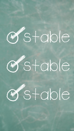 conceptual image: Stable requirement conceptual image