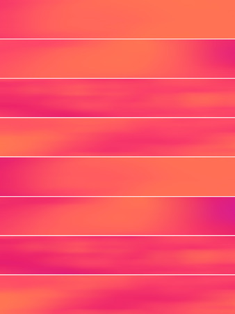sequences: Orange pink banners blurs abstract backgrounds set