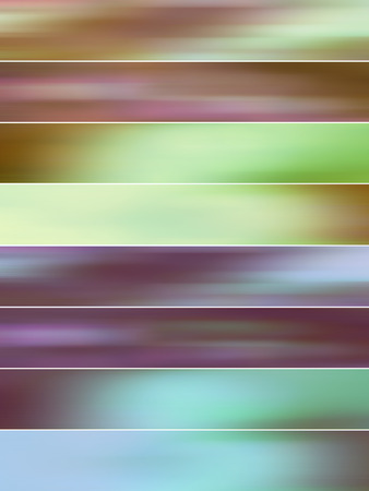 sober: Fresh sober blurs abstract backgrounds banners set