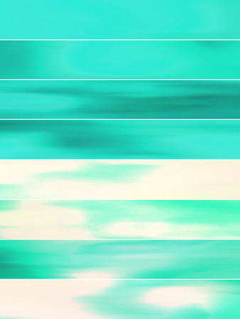animate: Turquoise abstract background banners of blurs