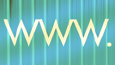 typographies: Www internet signs abstract striped background