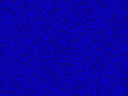 subtle: Blue subtle drops illustration abstract background