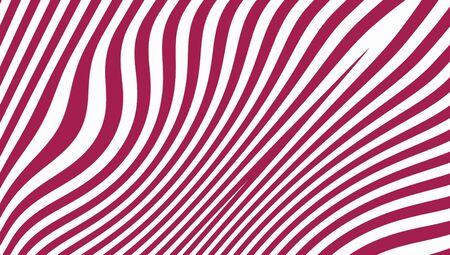 purpleish: Elegant stripes abstract background on white Stock Photo