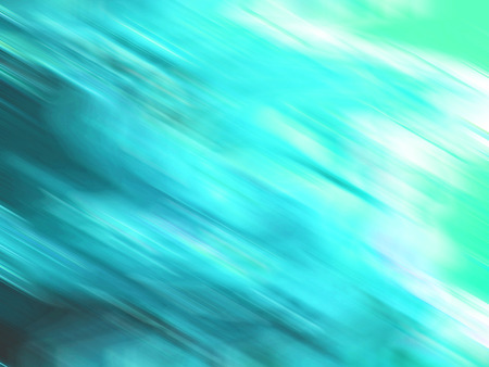 multiplying: Spreading turquoise blurs abstract background
