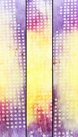 closeups: Dotted grungy abstract banners backgrounds