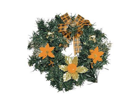 folliage: Typical Christmas wreath