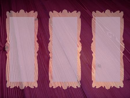 rectangular: Three rectangular frames background