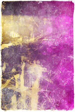 oldish: Grunge purple abstract background of stains