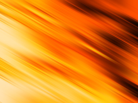 Orange moving blurs abstract background