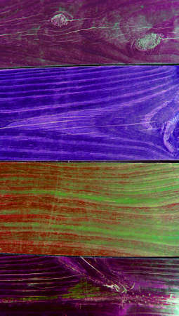 painted wood: Wood lines painted of colors abstract background