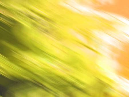 vibrations: Yellow blurs abstract background