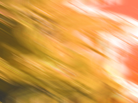 multiplying: Orange blurs abstract backdrop Stock Photo