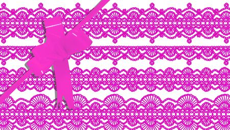 b day party: Pink gift elegant background design