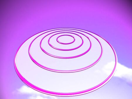 targetting: Purple targetting background abstract conceptual image Stock Photo