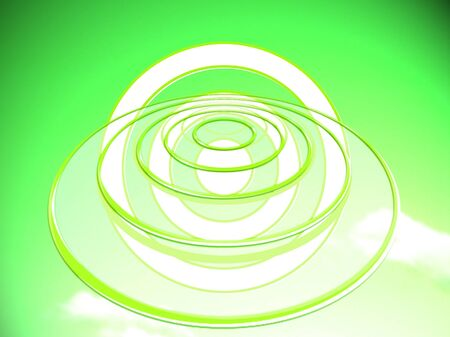 time travel: Time travel projection target circles
