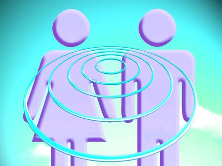Couple projection targets conceptual image