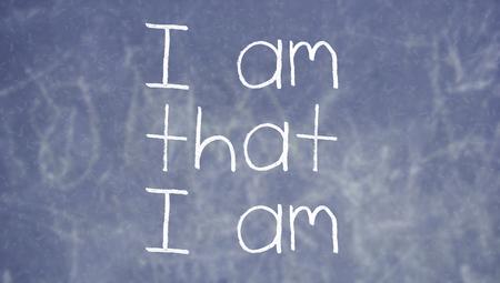 i am: Teaching about meditation on I am that I am at school