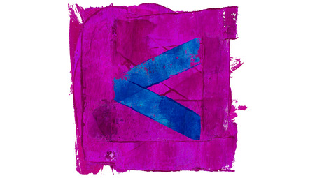back arrow: Back arrow of colors paint