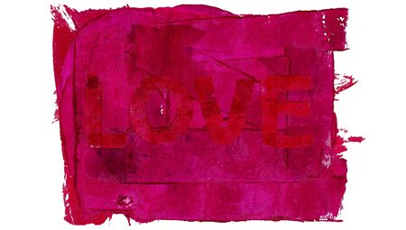 subtle: Love of red paint subtle background