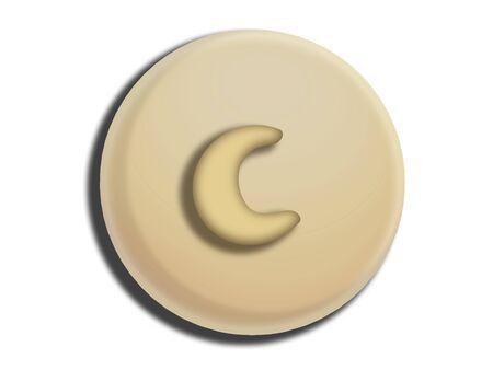 white chocolate: White chocolate circular bombom with cashew nut