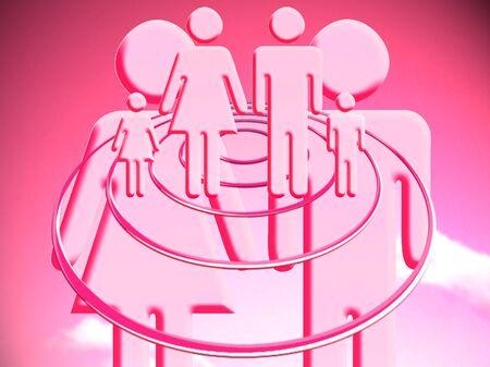 planificacion familiar: ilustración de la planificación familiar