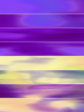 sequences: Indigo blue blurs abstract banners background Stock Photo
