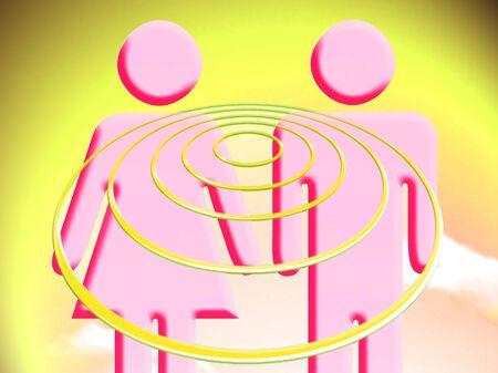conceptual: Couple plans conceptual image