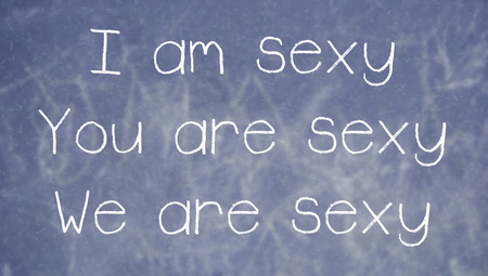 i am: Learning to use I am you are we are with sexy word on class