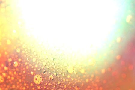 brilliant   undersea: Brilliant white light under water bubbles background