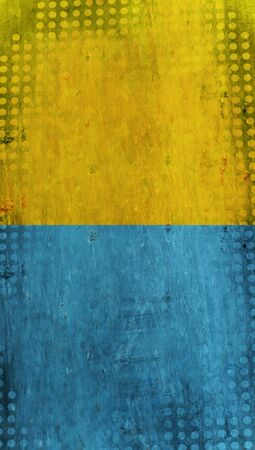blue  backgrounds: Grunge yellow and blue dots backgrounds