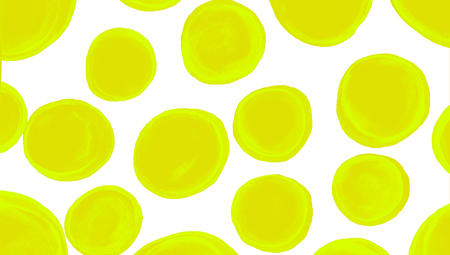 yellowish: Yellowish green irregular circles abstract background