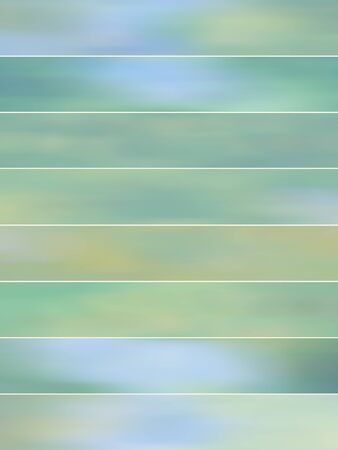 animate: Light blue blurry abstract backgrounds banners set