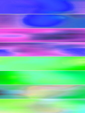 sequences: Blue and green brilliant lines abstract background of blurs Stock Photo