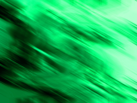 sequences: Green blurs movement abstract background