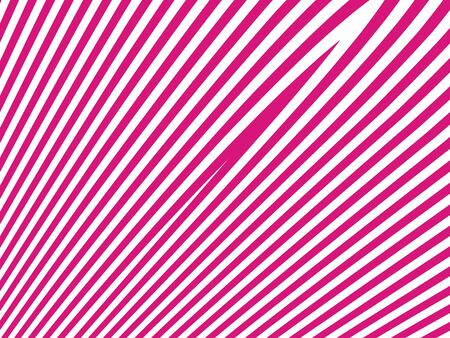 pinkish: Pinkish red stripes on white abstract background