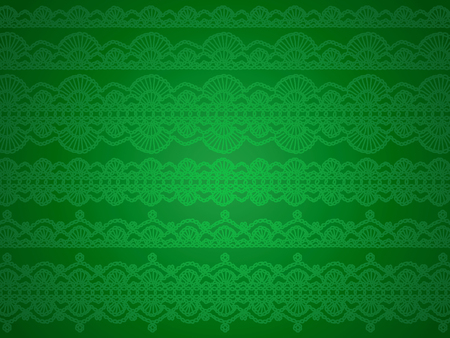 purls: Green design abstract background