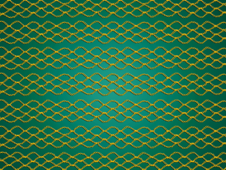 delicated: Green background with crochet web lines texture Stock Photo