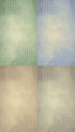 oldish: Four colors oldish backgrounds set