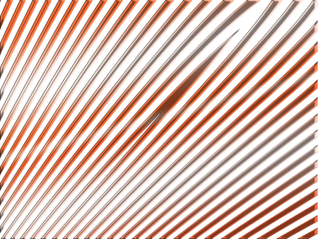metalized: Gold and red metal thin lines abstract background on white