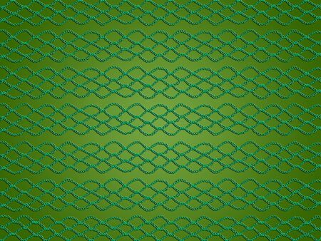 needle laces: Green web abstract background of crochet Stock Photo