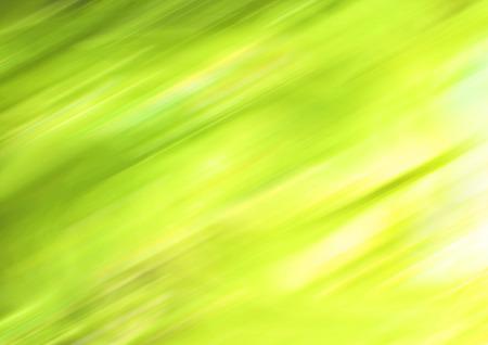 greenish: Greenish yellow luminous blurs abstract background Stock Photo