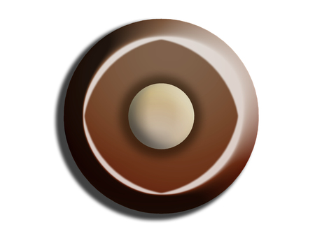 comfits: Chocolate circles